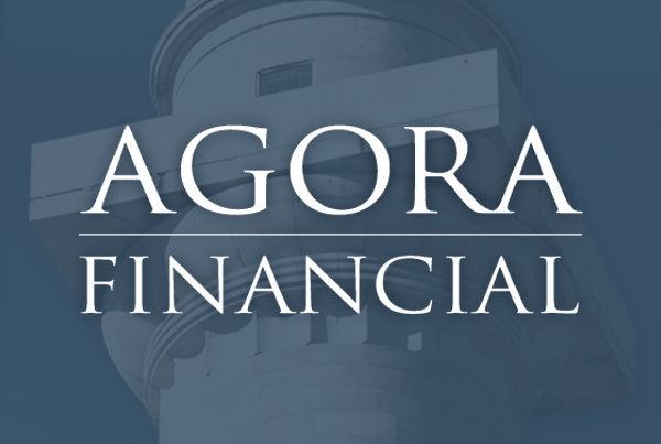 Agora Financial & Agora Financial Reserve Logos by O'Dell Graphic Solutions