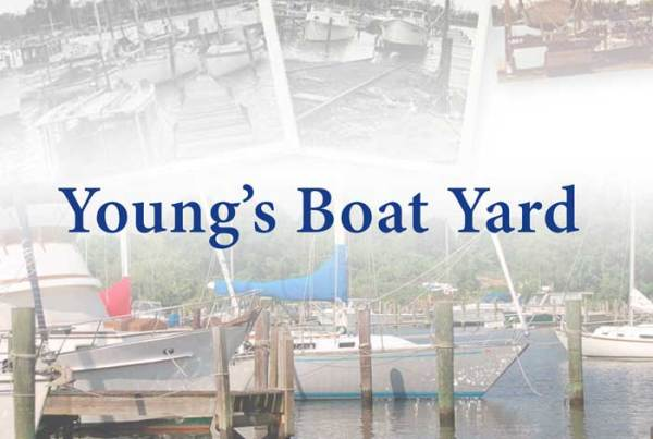 Young's Boat Yard website by O'Dell Graphic Solutions