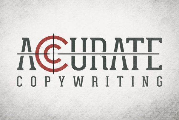 Accurate Copywriting Logo by O'Dell Graphic Solutions
