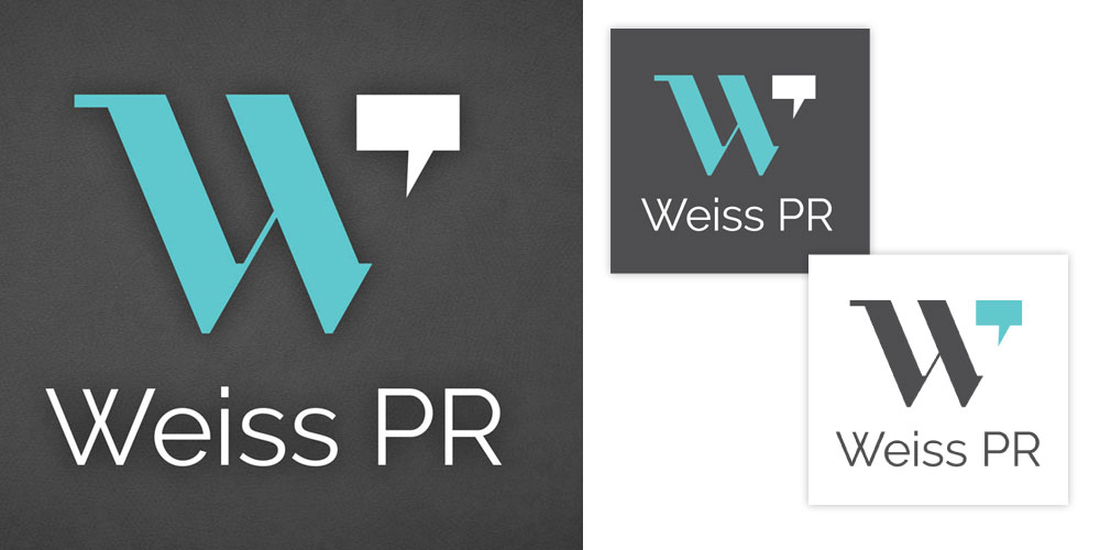 Weiss PR Logo by O'Dell Graphic Solutions