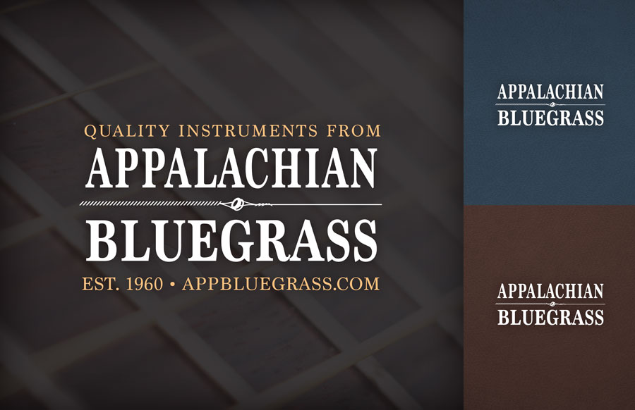 Appalachian Bluegrass Shoppe Branding by O'Dell Graphic Solutions