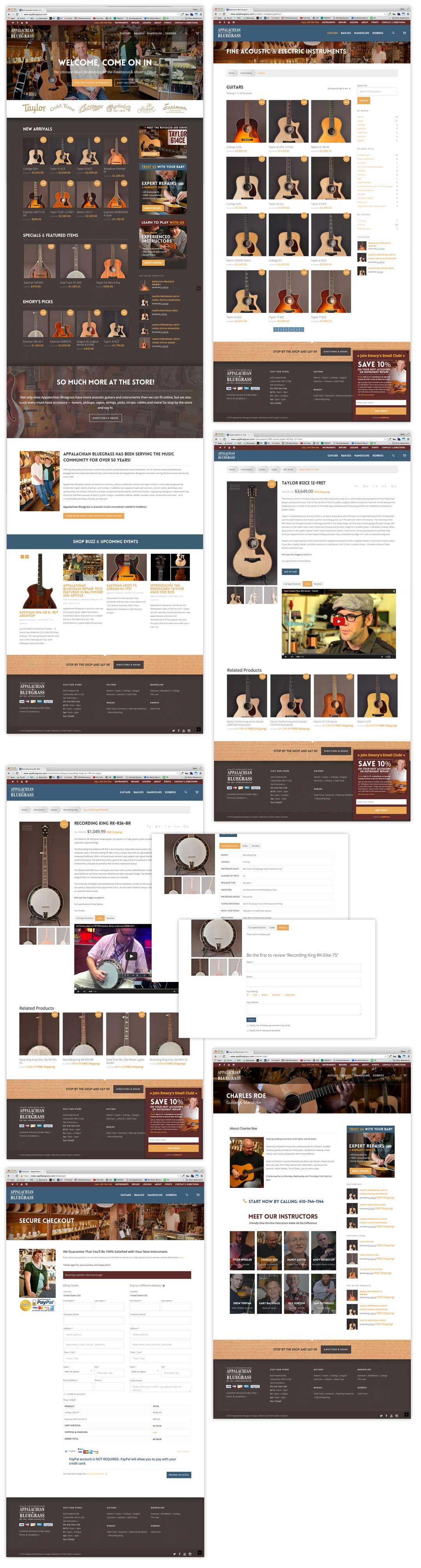 Narrows-RAppalachian Bluegrass Shoppe Mobile-friendly Website by O'Dell Graphic Solutionsestaurant-Responsive-Website-By-ODell-Graphic-Solutions