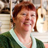 Charlene Knode at Applachian Bluegrass Shoppe Endorse O'Dell Graphic Solutions
