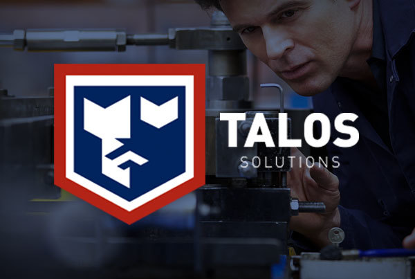 Talos Solutions Website by O'Dell Graphic Solutions